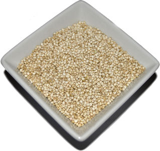 Quinoa is a protein packed gluten free alternative to wheat and couscous